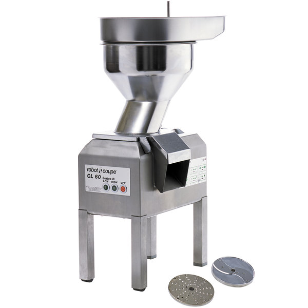 Robot Coupe CL60 Bulk Feed Food Processor - 4 hp