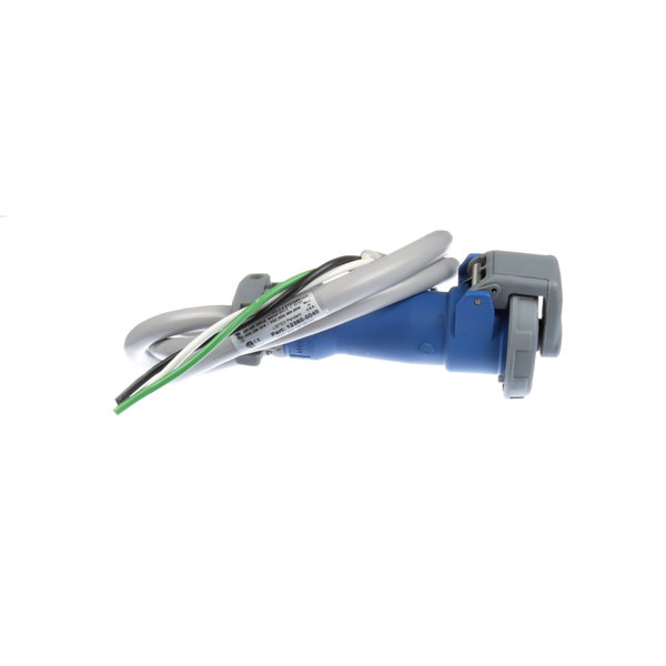 Hubbell HBL12360-0040 20 Amp Blue Pin/Sleeve Drop Cord