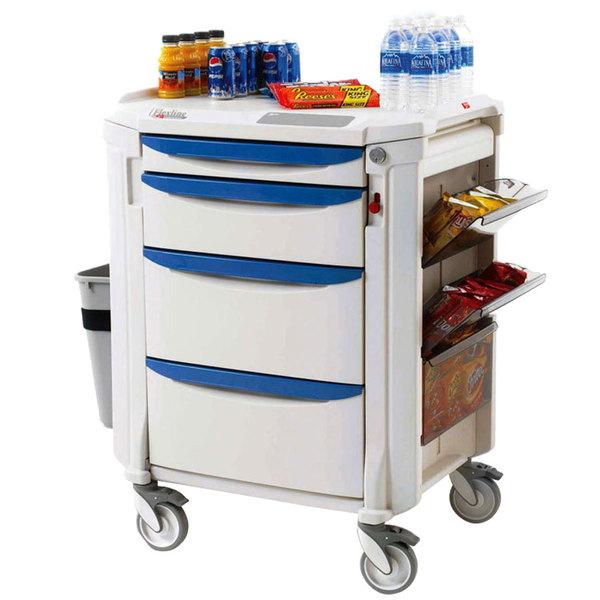 Metro FLMB2 Mini Bar Restocking Cart