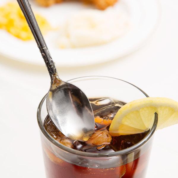 Claridge Flatware Stainless Steel Iced Tea Spoon - 12/Case