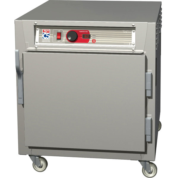 Metro C583L-SFS-L C5 8 Series Undercounter Reach-In Heated Holding Cabinet - Solid Door Main Image 1