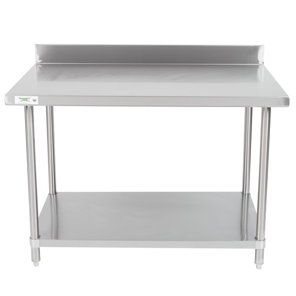 Regency X Gauge Stainless Steel Commercial Work Table - 16 gauge stainless steel work table