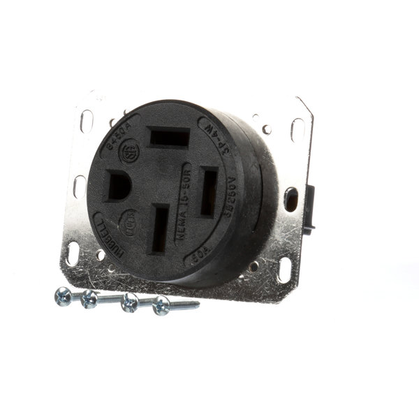 Hubbell HBL8450A Receptacle 50a 250v 3p 4w