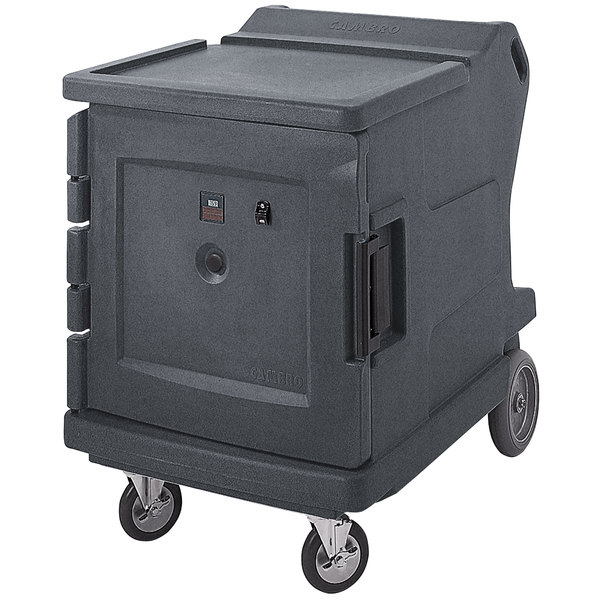 Cambro CMBHC1826LC191 Camtherm® Granite Gray Low Profile Electric Hot / Cold Food Holding Cabinet in Celsius - 110V Main Image 1