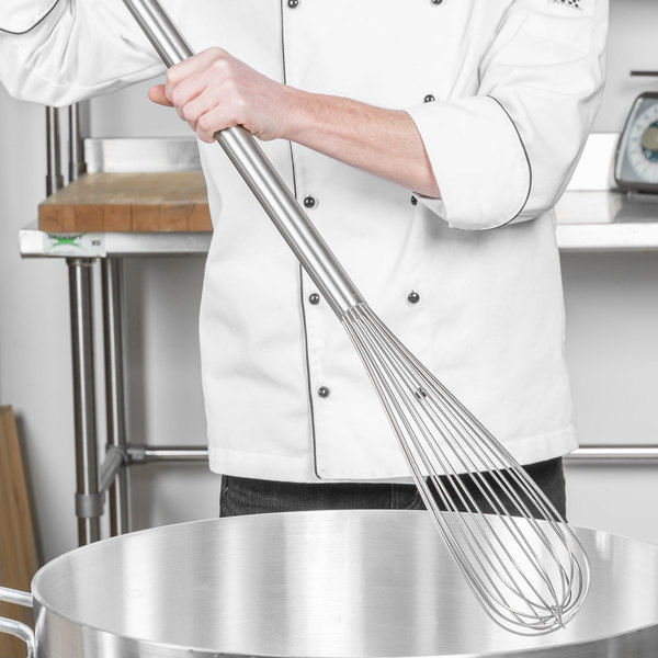 """Carlisle Sparta Chef Series 40682 48"""" French Stainless Steel Whip"""