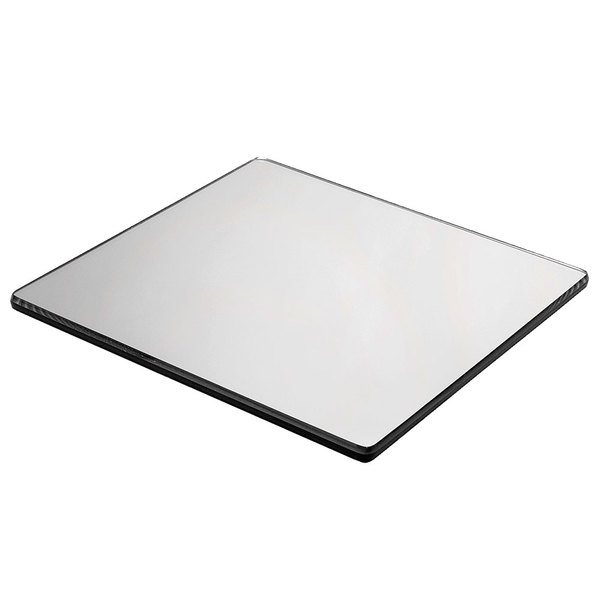 """Cal-Mil 411-16 16"""" Square Mirror Tray"""