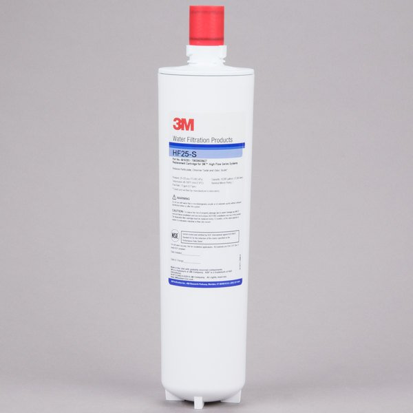 3M Cuno HF25-S Replacement Cartridge for ICE125-S Water Filtration System - 1 Micron and 1.5 GPM