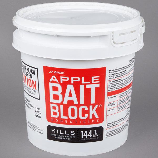 JT Eaton 709-AP Apple Flavor Bait Blocks - (144) 1 oz. Blocks / Pail Main Image 1