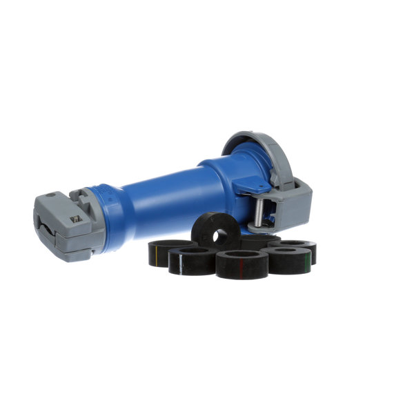 Hubbell HBL430C9W Connector 3p 4w 250v