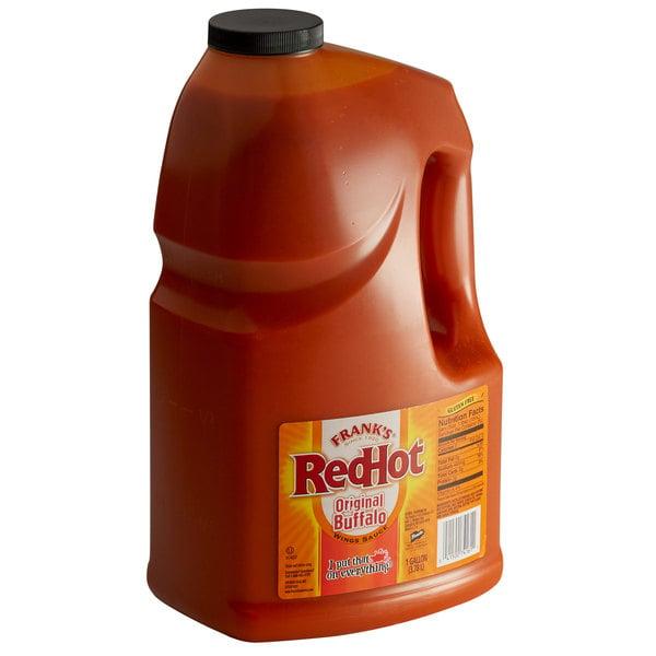 Frank's RedHot 1 Gallon Original Buffalo Wing Hot Sauce - 4/Case Main Image 1