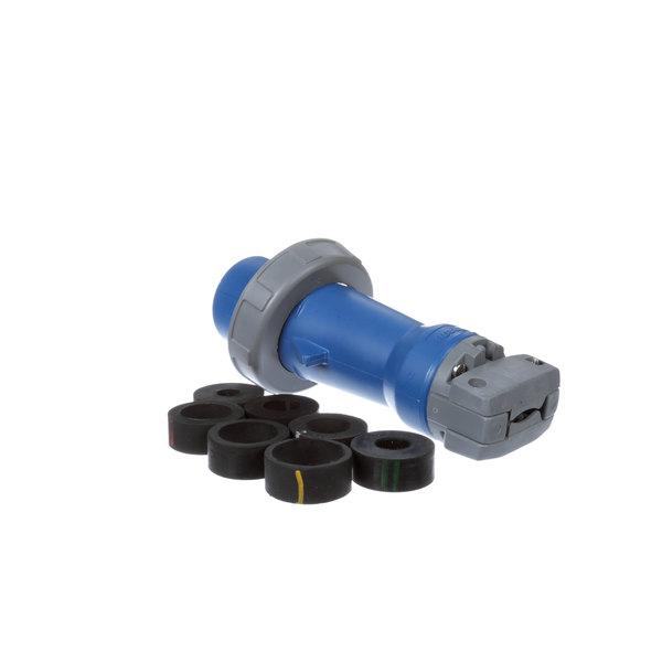 Hubbell HBL330p6w Pin & Sleeve Plug 30A 250V 2p 3W