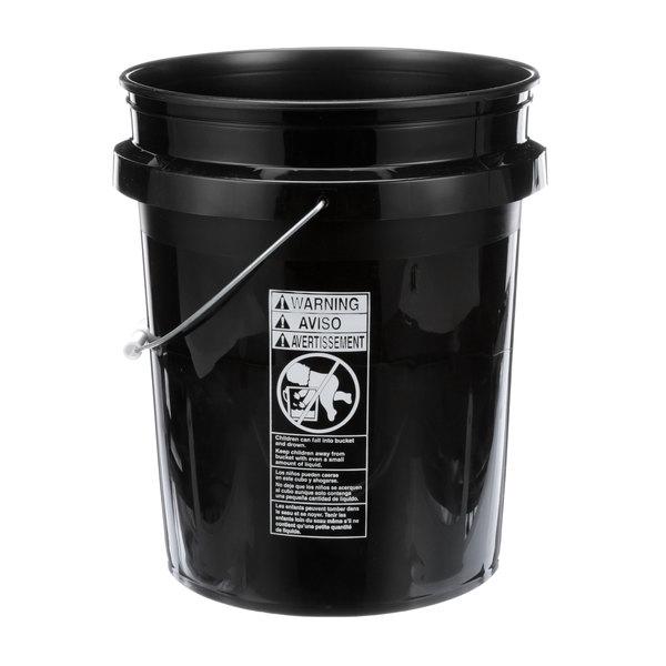 Delfield 3547771 Bucket 5 Gallon Black