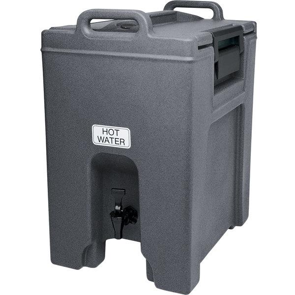 Cambro UC1000191 Ultra Camtainers® 10.5 Gallon Granite Gray Insulated Beverage Dispenser Main Image 1