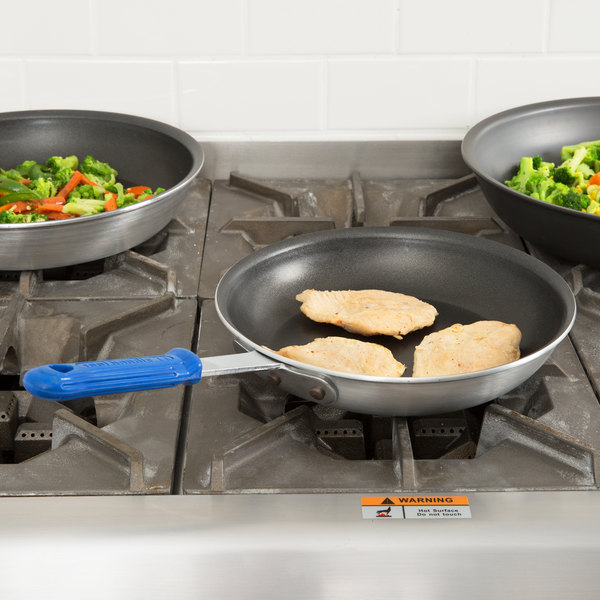 "Vollrath Z4010 Wear-Ever 10"" Non-Stick Fry Pan with CeramiGuard II and Cool Handle"