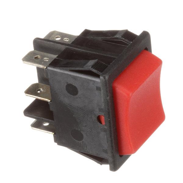 Skydyne 96000002 Rocker Switch (Black W/ Red Rkr) Main Image 1