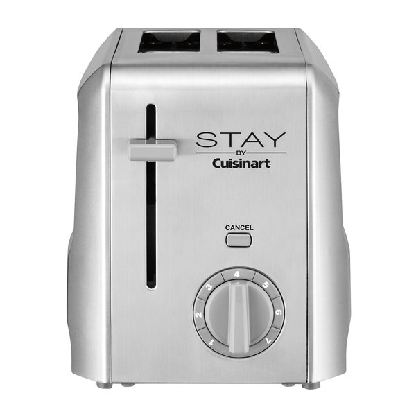 STAY by Cuisinart WST240 2 Slice Stainless Steel Toaster Main Image 1