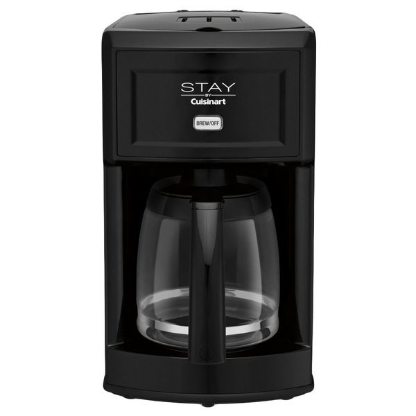 STAY by Cuisinart WCM280BK Black 12 Cup Coffee Maker - 120V Main Image 1