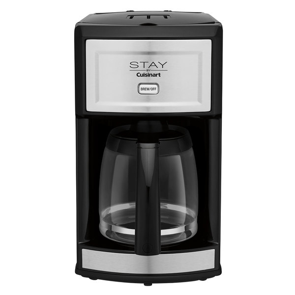 STAY by Cuisinart WCM280S Stainless Steel 12 Cup Coffee Maker - 120V Main Image 1