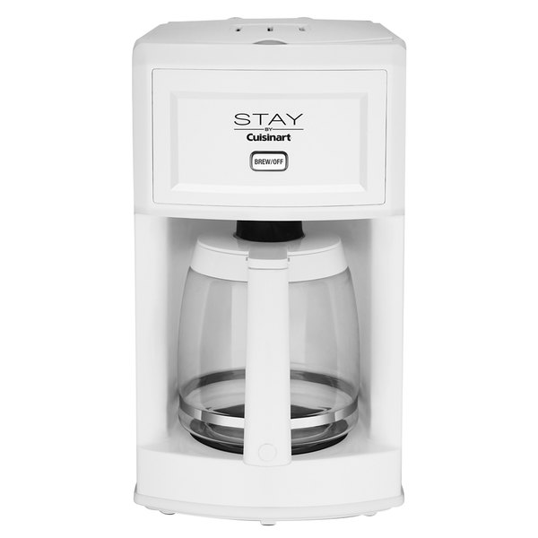 STAY by Cuisinart WCM280W White 12 Cup Coffee Maker - 120V Main Image 1
