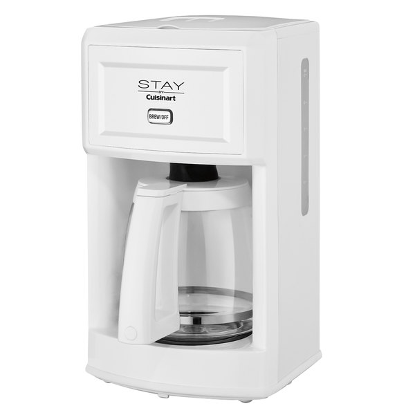 Stay By Cuisinart Wcm280w White 12 Cup Coffee Maker 120v Main Picture Image Preview