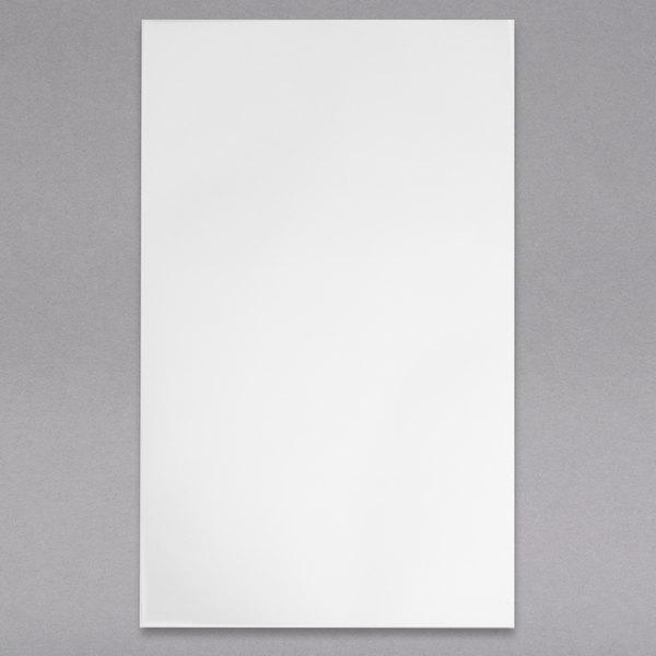 "H. Risch, Inc. LEDPAPER-1V 8 1/2"" x 14"" Single-Page LED Menu Paper - 20/Pack Main Image 1"