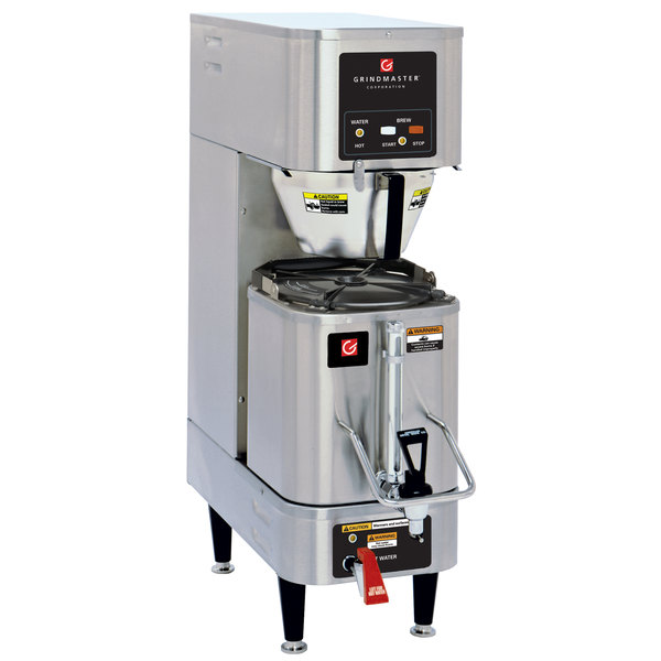 Grindmaster-Cecilware AP-300E230VG 1.5 Gallon Single Shuttle Coffee Brewer - 230V, Canadian Use