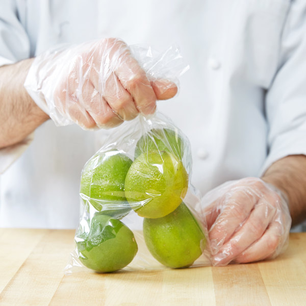 "Elkay Plastics P12F0610 Plastic Food Bag / Candy Bag 6 3/4"" x 10 3/4"" - 2000/Box"