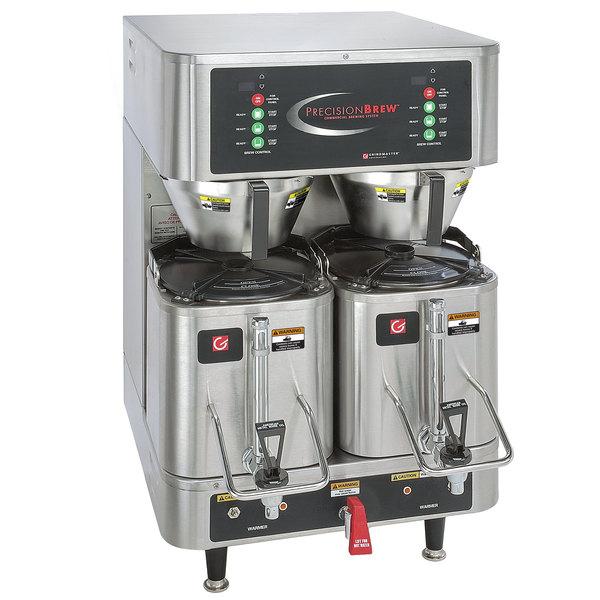Grindmaster-Cecilware APB-430V2E230 PrecisionBrew 1.5 Gallon Twin Shuttle Coffee Brewer - 230V, Canadian Use Main Image 1