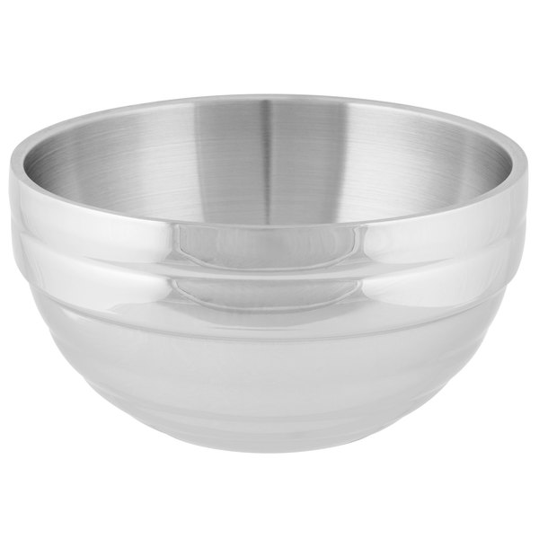 Vollrath 46592 Double Wall Round Beehive 6.9 Qt. Serving Bowl Main Image 1