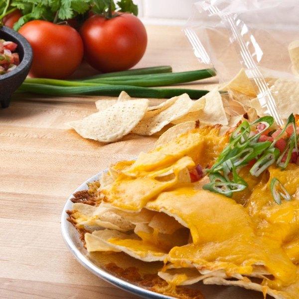 Mission 2 lb. White Triangle Corn Tortilla Chips - 6/Case Main Image 2