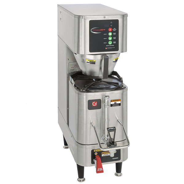 Grindmaster-Cecilware APB-330V2E230 PrecisionBrew 1.5 Gallon Single Shuttle Coffee Brewer - 230V, Canadian Use
