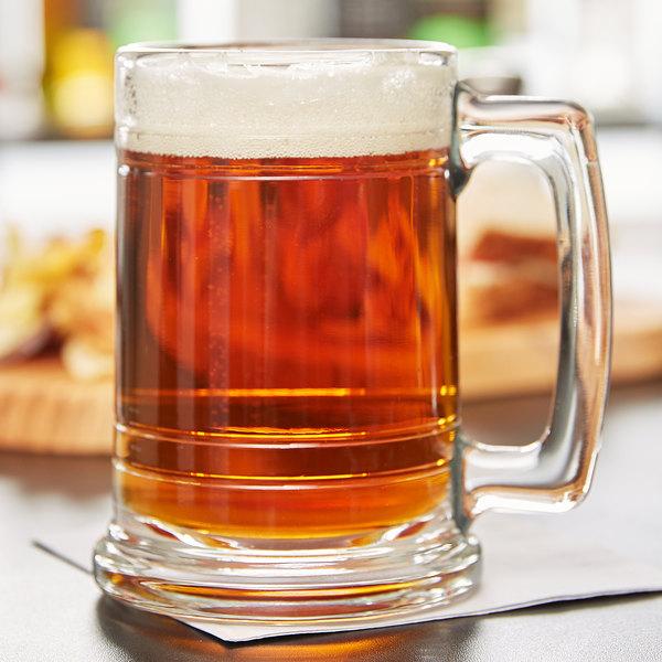 Libbey 5027 15 oz. Maritime Beer Mug - 12/Case Main Image 2