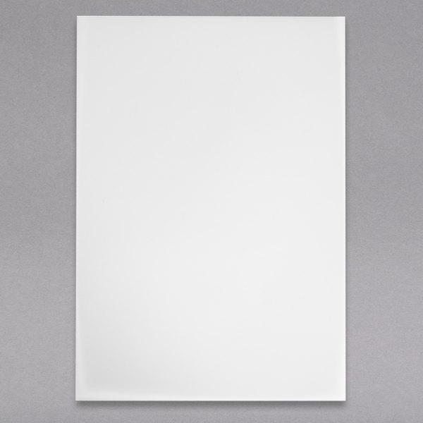 "H. Risch, Inc. LEDPAPER-1V 8 1/2"" x 11"" Single-Page LED Menu Paper - 20/Pack Main Image 1"