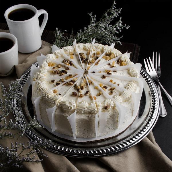 "Pellman 9"" Pre-Cut Carrot Cake"