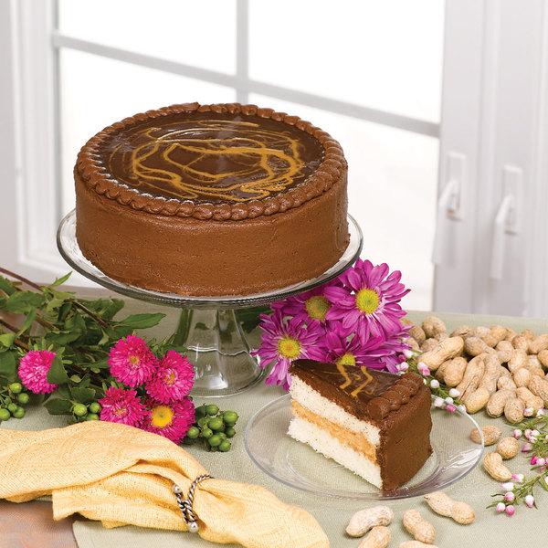 "Pellman 9"" Fudgy Peanut Butter Ripple Cake"