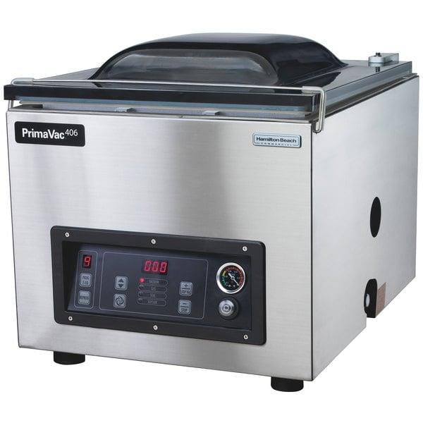 "Hamilton Beach HVC406 PrimaVac 406 Chamber Vacuum Sealer with 16"" Seal Bar Main Image 1"