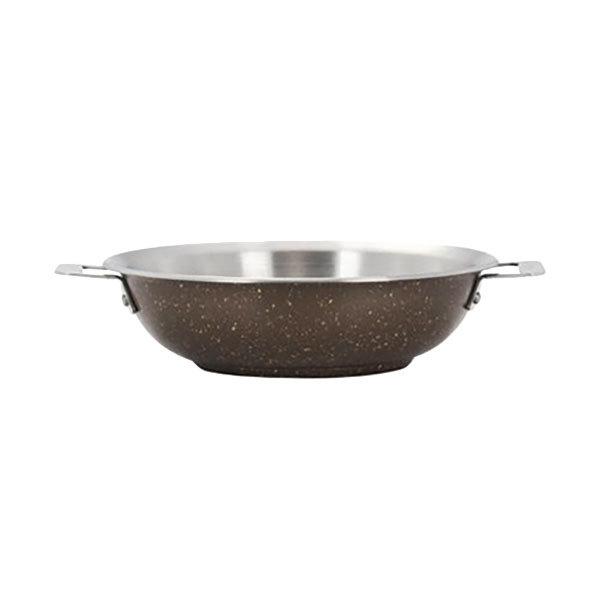 "Bon Chef 60014COFFEE Cucina 10"" Coffee Stainless Steel Stir Fry Pan Main Image 1"