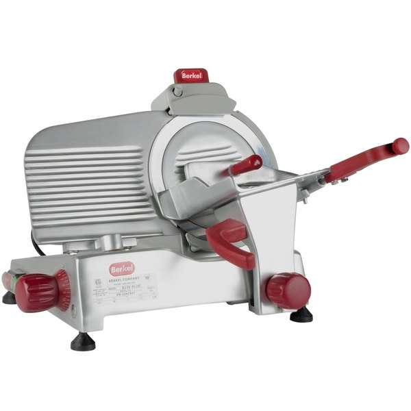 Berkel 823e Plus 9 Manual Gravity Feed Meat Slicer 1 4 Hp