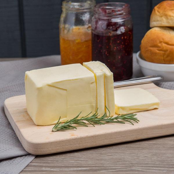 Wuthrich 1 Lb. 83% Unsalted European Butter - 36/Case Main Image 3