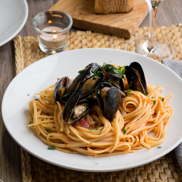 Foods From The Sea 1 lb. Whole Cooked Mussels - 10/Case Main Image 3