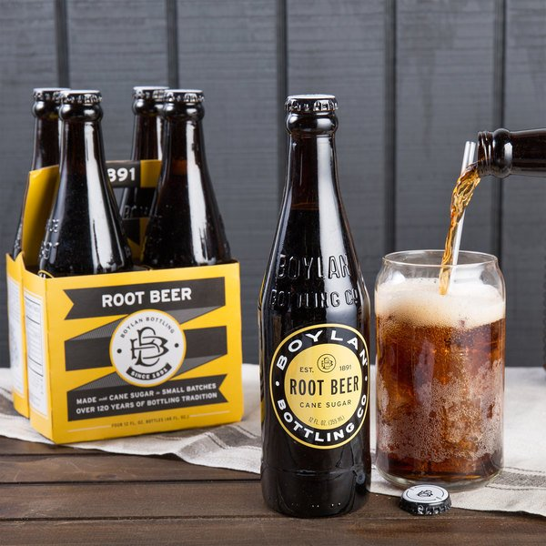 Boylan Bottling Co. 12 oz. Root Beer 4-Pack - 6/Case