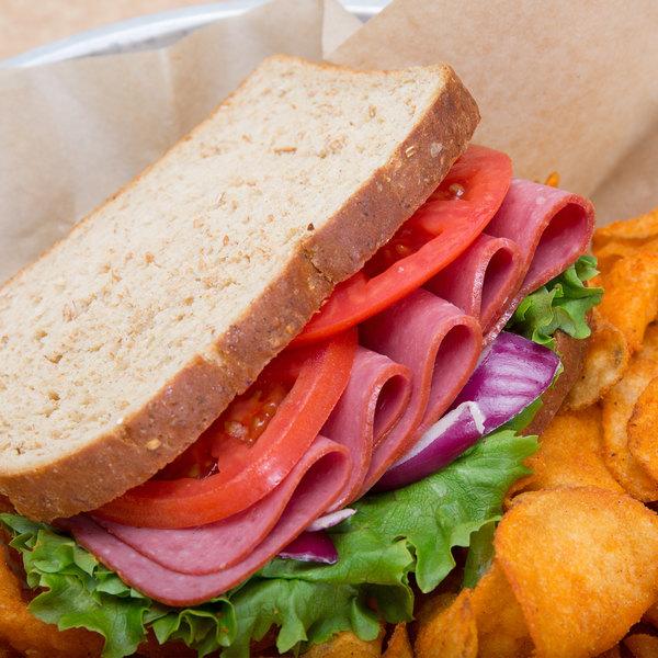 Kunzler 6 lb. Chipped Beef Loaf - 2/Case