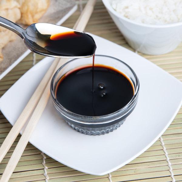 La Choy 1 Gallon Soy Sauce - 4/Case