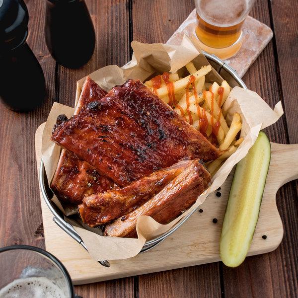 2.75 lb. St. Louis Pork Ribs - 12/Case