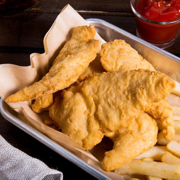 Garimark Foods Ready-to-Cook Golden Breaded Chicken Tenderloin Fritters Main Image 8
