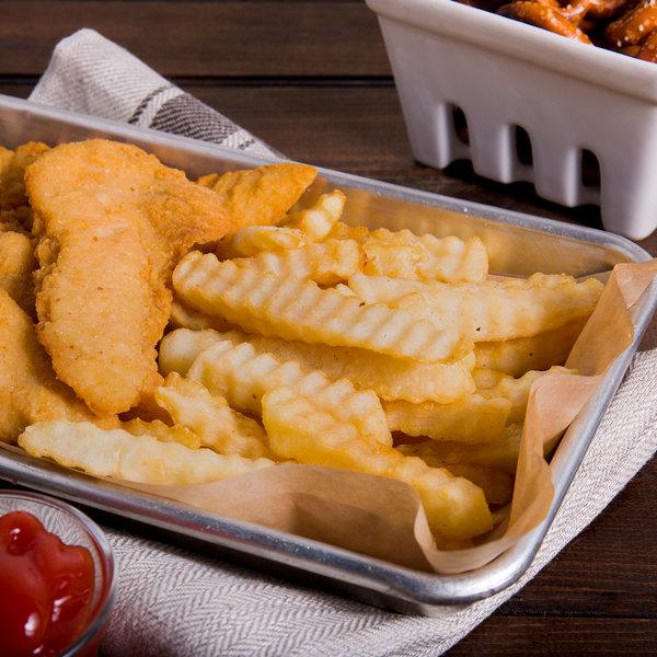 "Saint-Arneault 5 lb. 1/2"" Crinkle Cut Club Fries - 6/Case"