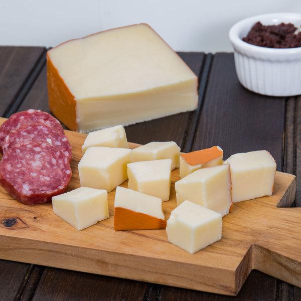 Emma Semi-Soft Fontal Cheese 5 lb. 1/4 Wheel Main Image 2
