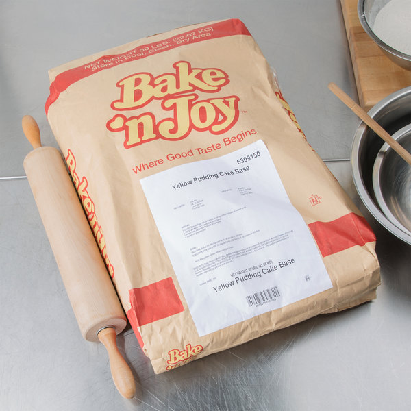 Bake'n Joy Foods Yellow Pudding Cake Mix - 50 lb.