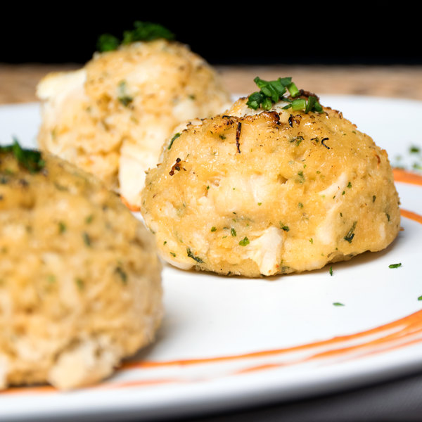 Kaptain's Ketch 3 oz. Extra Fancy Crab Cakes - 15/Case Main Image 4