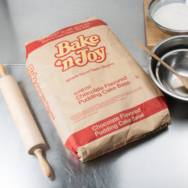 Bake'n Joy Foods Chocolate Pudding Cake Mix - 50 lb.